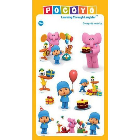 Matrica kisgyerekeknek - Pocoyo matricás csomag