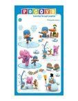 Pocoyo játékok - Pocoyo matricák téli motívumokkal