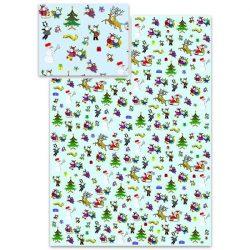 Csomagoló papírok - Bogyó és Babócás karácsonyi csomagoló papír