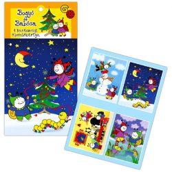Bogyó és Babóca termékek - Karácsonyi etikett Bogyóval, és Babócával