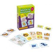 Társasjáték - Állatok és kicsinyeik párosító játék