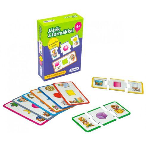 Társasjáték - Oktató - Fejlesztő - Játék a formákkal fejlesztő játék
