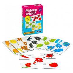 Társasjáték - Oktató - Fejlesztő - Milyen színű? párosító játék