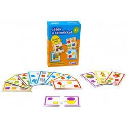 Társasjátékok - Oktató-fejlesztő - Játék a színekkel párosító oktató játék