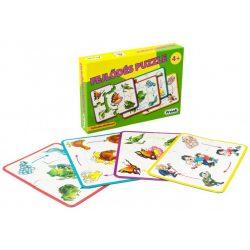 Társasjáték - Oktató - Fejlesztő - Logika és koncentráció fejlesztés - Fejlődés Puzzle
