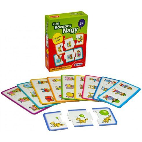 Társasjátékok - Oktató-fejlesztő - Kicsi nagy közepes ismeretterjesztő játék