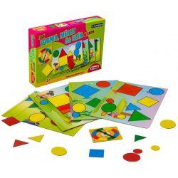 Oktató - Fejlesztő - Első forma, méret és szín játékom