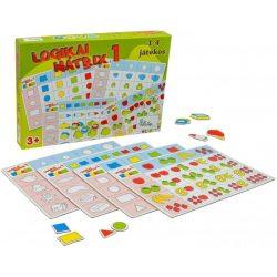 Logikus gondolkodás fejlesztő játékok - Logikai mátrix 1.