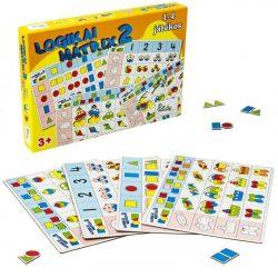 Logikus gondolkodás fejlesztő játékok - Logikai mátrix 2.