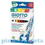 Írószerek - Turbo magic varázsfilc 8db Giotto