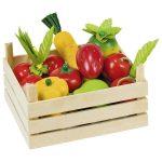 Szerepjátékok - Konyha - Gyümölcsök és zöldségek rekesz