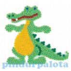 Fűzős játékok - Alaplap krokodil - HAMA