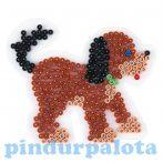 Gyöngyök - Alaplap kutya
