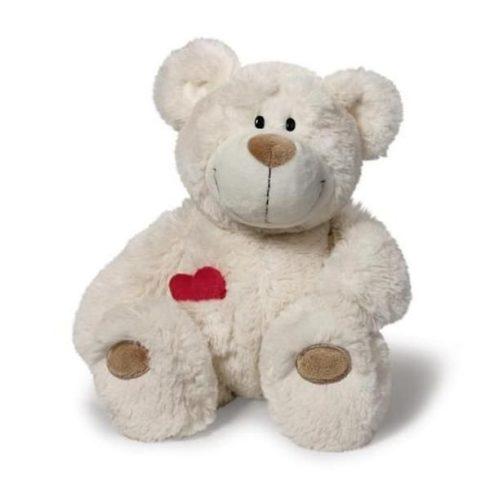 Nici maci - Happy Box - Love Bear lógólábú, 25 cm