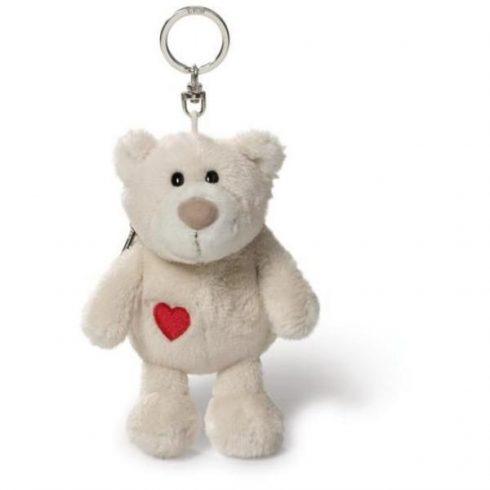 Happy Box Nici Love Bear - Macis kulcstartó pénztárolóval - Plüss