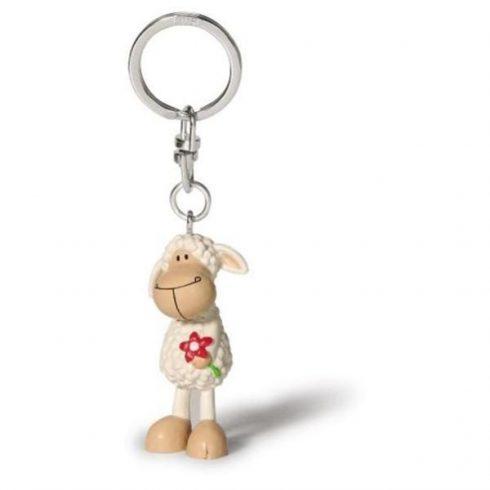 Fehér színű bárányos kulcstartó - Happy Box Nici - Jolly White