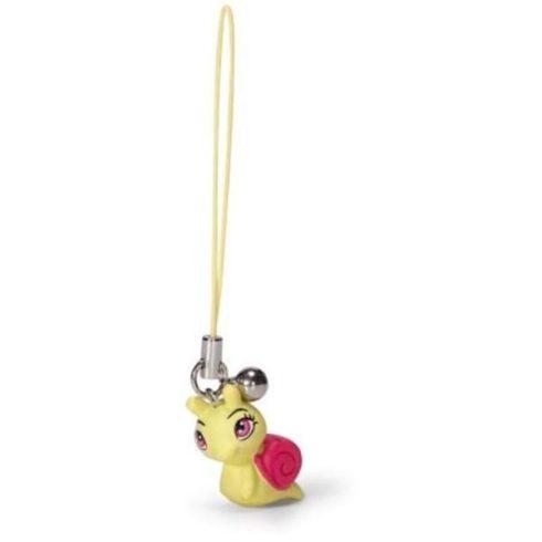 Mobil ékszer - Csiga sárga színben - Happy Box Nici