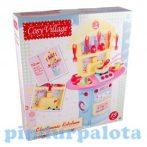 Szerepjátékok - Játékkonyhák - Cosy-village konyhakészlet