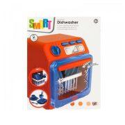 Szerepjátékok - Smart játék mosogatógép kiegészítőkkel piros-kék