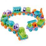 Wader - Utánfutós műanyag autók - Gyűjthető