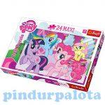 Gyerek Puzzle - Kirakósok - Puzzle My Litte Pony 24 Trefl