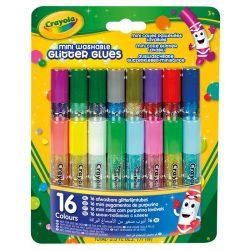 Ragasztók - Crayola csillámos ragasztó 16 db-os