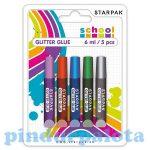 Írószerek-iskolaszerek - Ragasztók - Csillámos ragasztó 5 féle színben