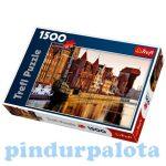 Puzzle - Puzzle Trefl 1500 db Gdansk Lengyelország