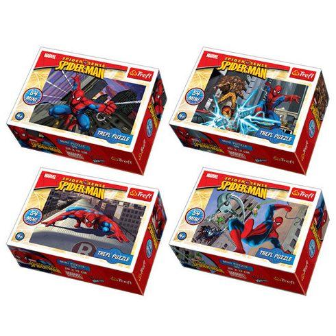 Gyerek Puzzle - Kirakósok - Pókember mini Puzzle, 54 db-os, többféle