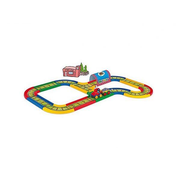 Játék Garázsok - Vasútpályák - Kid Cars Vasútpálya 3,1m - Wader