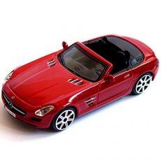 BBurago 1/43 Mercedes-Benz SLS AMG Roadster piros