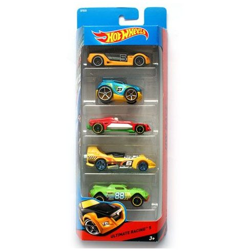 Mattel - HotWheels - Ultimate Racing 5db-os kisautó szett