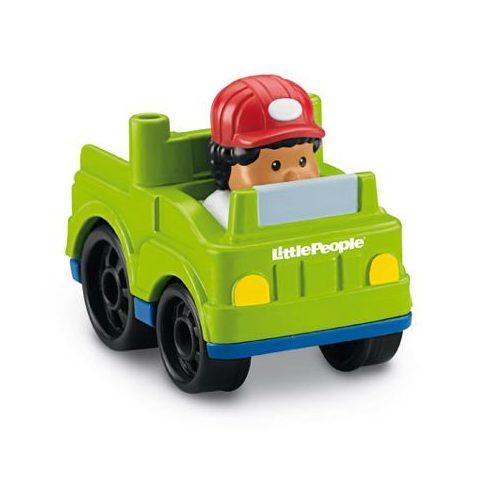 Mattel - Négykerekű autópajtás kisautó - X7812