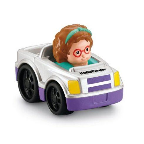 Mattel - Négykerekű autópajtás kisautó - Y5956