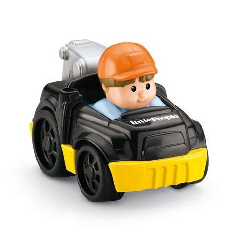 Mattel - Négykerekű autópajtás kisautó - Y5959