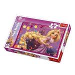 Puzzle gyerekeknek - Aranyhaj és a nagy gubanc 160 db-os Puzzle Trefl
