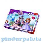 Puzzle gyerekeknek - Szófia Hercegnő Puzzle 100 db Trefl
