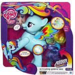 Hasbro - My Little Pony - Rainbow Dash - magyarul beszélő Póny - Szaltózó