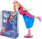 Játékbabák - Műanyag-babák - Jégvarázs Anna korcsolyázik