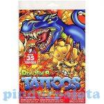 Matricák gyerekeknek - Tetoválás - Dinoszauruszos tetoválás szett 35db-os