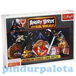 Társasjátékok gyerekeknek - Angry Birds Star Wars Végső csata társasjáték