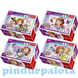 Gyerek Puzzle - Kirakósok - Szófia Hercegnő 54 db -os mini puzzle
