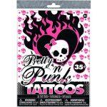 Matricák gyerekeknek - Pretty 'n Punk tetoválás szett 35db-os
