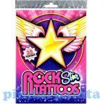 Matricák gyerekeknek - Rockstar tetoválás szett 35db-os