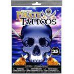 Matricák - Kalózkaland tetoválás szett