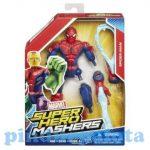 Akciófigurák - Szuperhősök  - Pókember akciófigura - Marvel Mashers - Hasbro