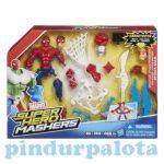 Akciófigura szett  - Pókember kiegészítőkkel Marvel Mashers Hasbro