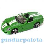 Járművek - Bburago - Shelby Series one zöld kiautó 1/43