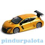 Járművek - Bburago - Renault Megane sárga kisautó
