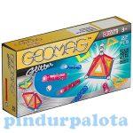 Építőjátékok gyerekeknek - Geomag Glitter 22db-os csillámos készlet